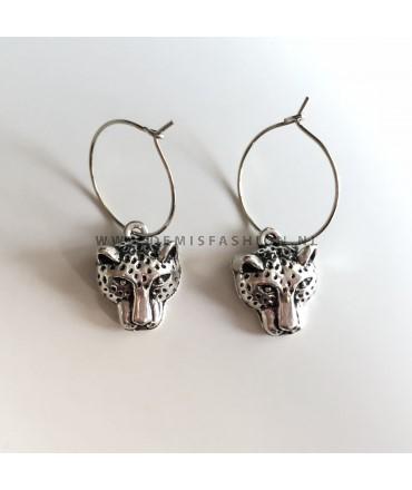Luipaard oorbellen Pascalle
