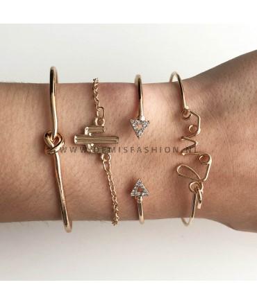 Armbanden set Ashley