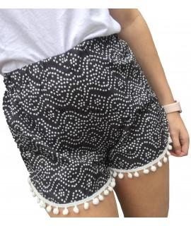 Zwart & witte short
