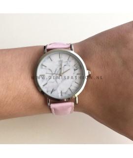 Roze horloge Joyce