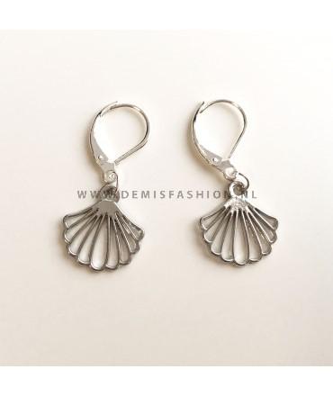 Zilveren oorbellen Simone