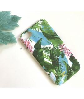 Groen bladeren hoesje voor iPhone 7