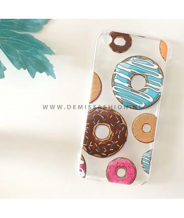 Transparant donut hoesje voor iPhone 7