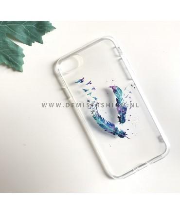 Transparant veer hoesje voor iPhone 7