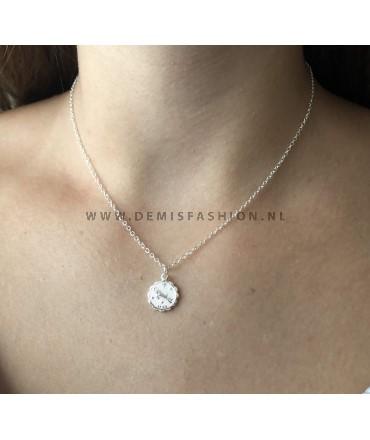 Steenbok sterrenbeeld ketting zilver