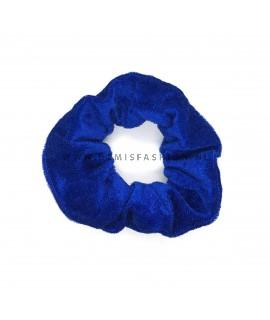 Scrunchie blauw