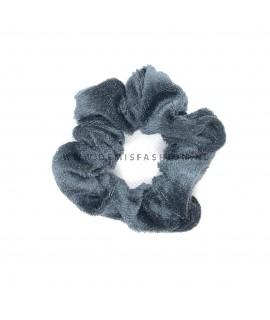 Scrunchie grijs klein