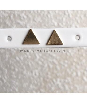 Driehoek oorbellen Noemi