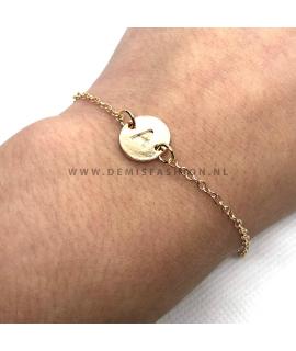 Initialen armband A