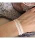 Roze armbandje Kelsy