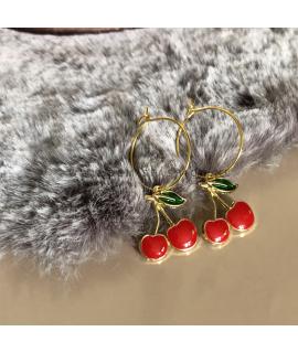 Kersjes oorbellen Kelsy