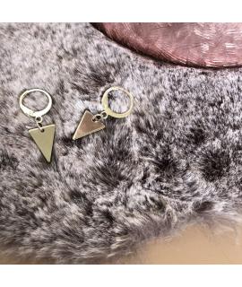Driehoek oorbellen Kelsy