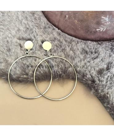Zilverkleurige ringen Kunza
