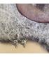 Zilveren vogel oorbellen Kunza