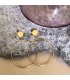 Goudkleurige ringen Kunza