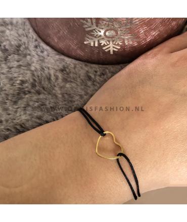 Hartjes armband Olivia