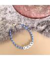 Luck armbandje blauw Danielle