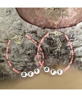 BFF armbandjes roze