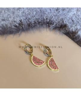 Meloen oorbellen Chalisa
