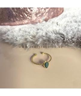 Ring Lola - groen