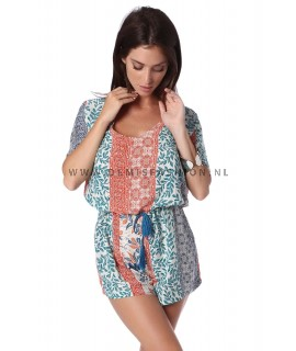Colored playsuit