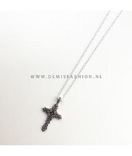 Kruis ketting Saskia